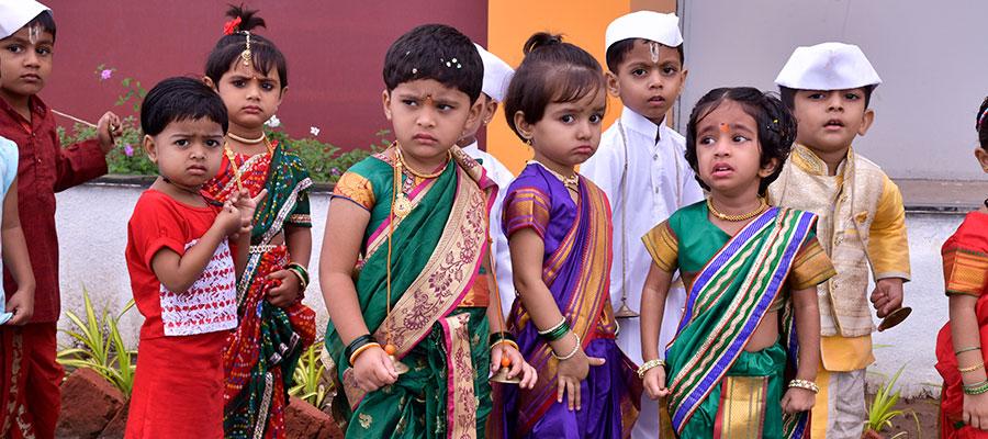 Ekadashi Celebration in Prakash Memorial School Pune, Wagholi