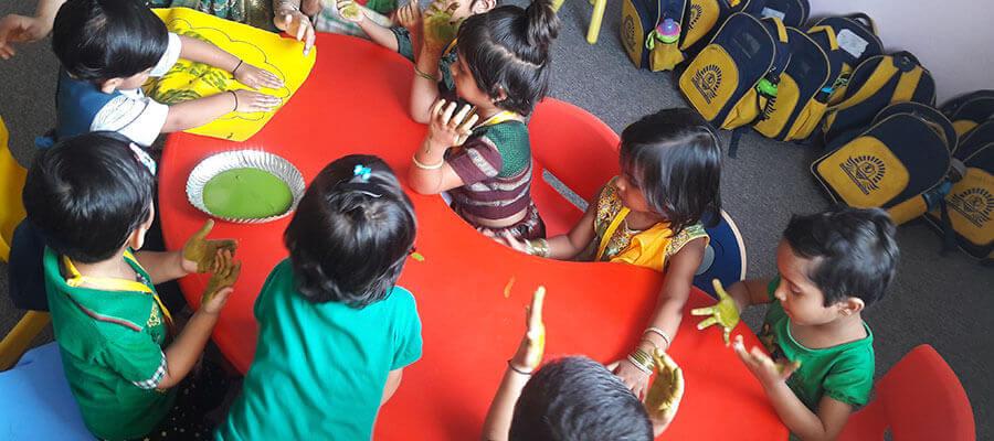 Hand Craft Activity